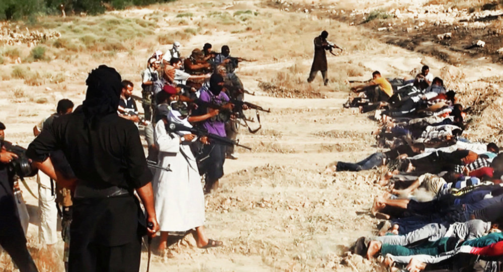 Mass execution by fighters of ISIS in Iraq