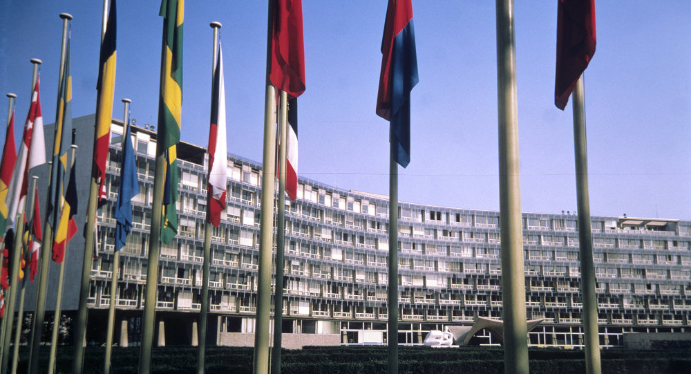 The United Nations Educational, Scientific and Cultural Organization (Unesco) headquaters