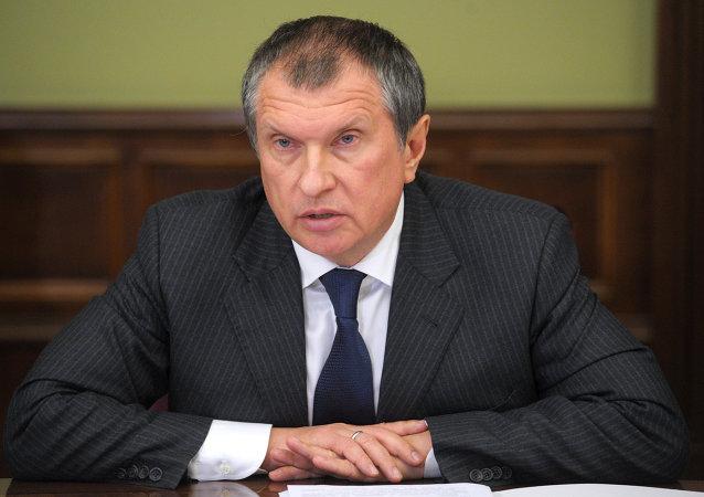 Заместитель председателя правительства России Игорь Сечин