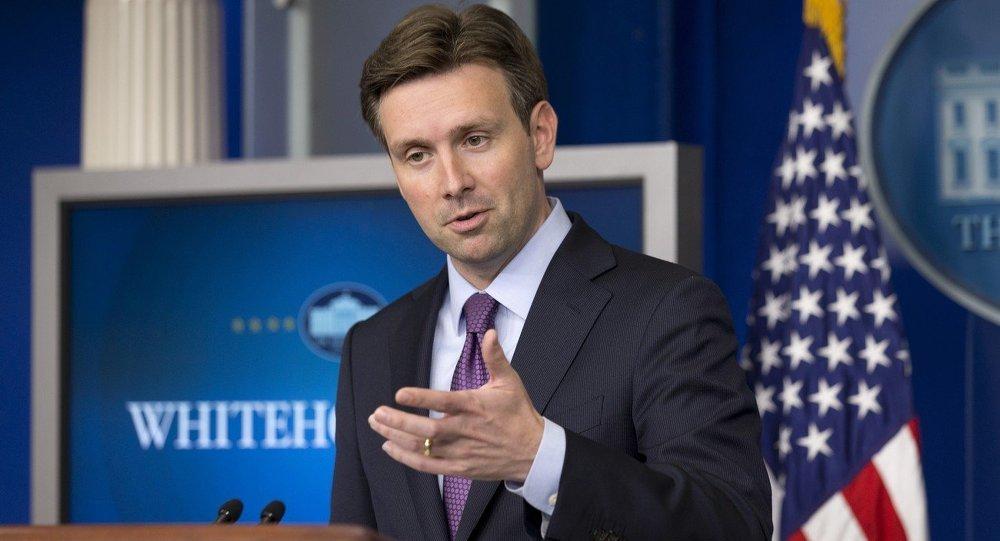 White House press secretary Josh Earnest