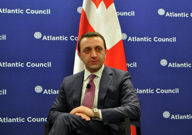 Georgia's Prime Minister Irakly Garibashvili