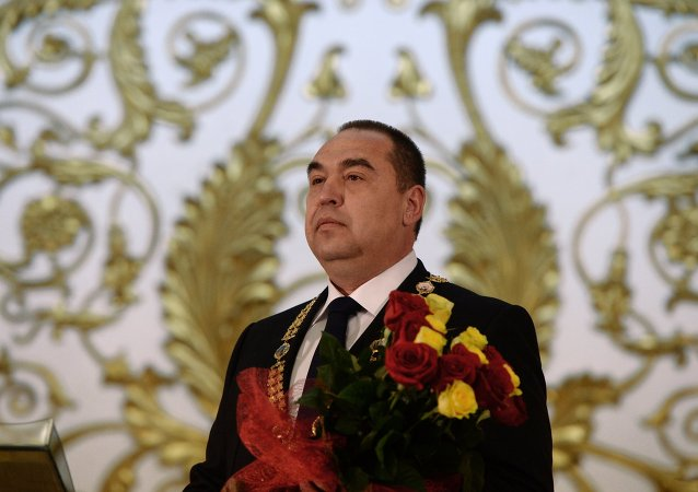 Igor Plotnitsky inaugurated official Head of Luhansk People's Republic