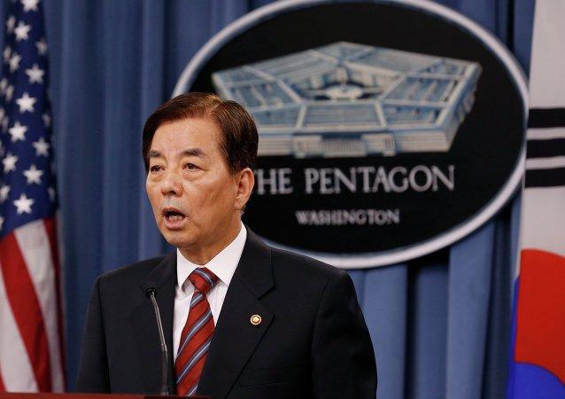 South Korean National Defense Minister Han Min Koo