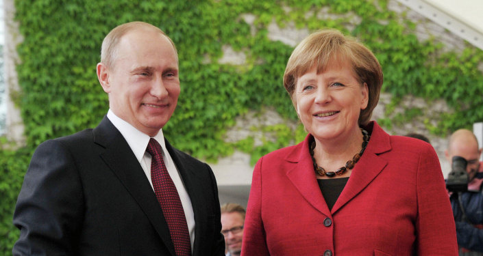 """Only together with Russia we can ensure security in Europe,"" Merkel said"
