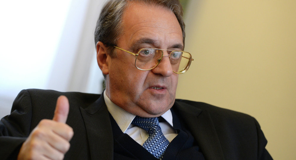 Russian Deputy Foreign Minister and Special Presidential Representative for the Middle East Mikhail Bogdanov