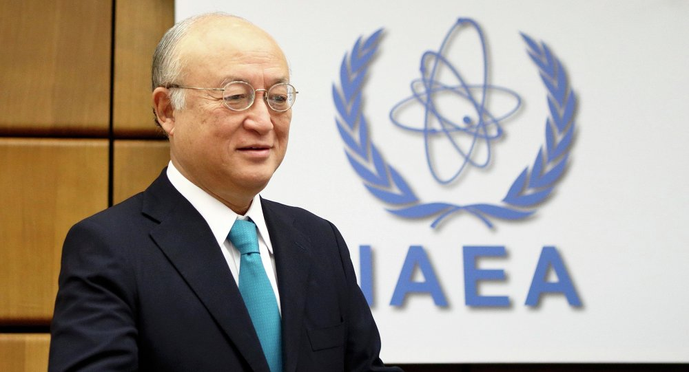 Yukiya Amano, director of the International Atomic Energy Agency (IAEA), welcomes the political agreement reached by Iran and the P5+1 group on Tehran's nuclear program.