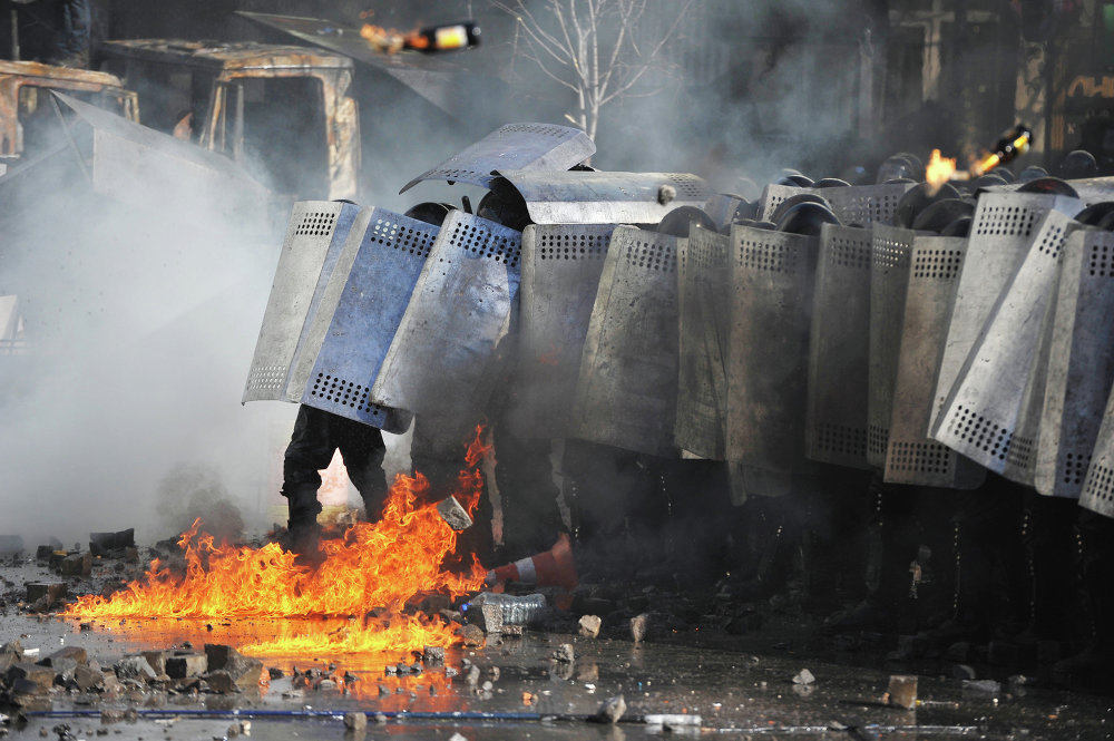 Escalating the situation in Ukraine