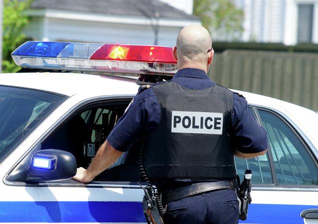 Офицер полиции США