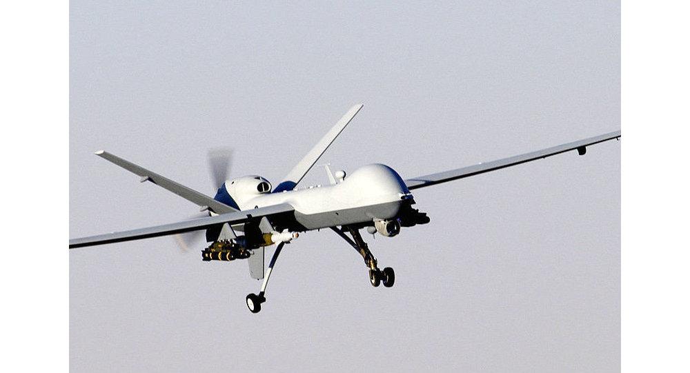 US MQ-9 Reaper drone in flight