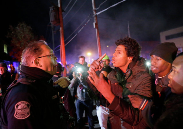 """The violence we saw in areas of Ferguson last night cannot be repeated,"" declared Missouri Governor Jay Nixon."