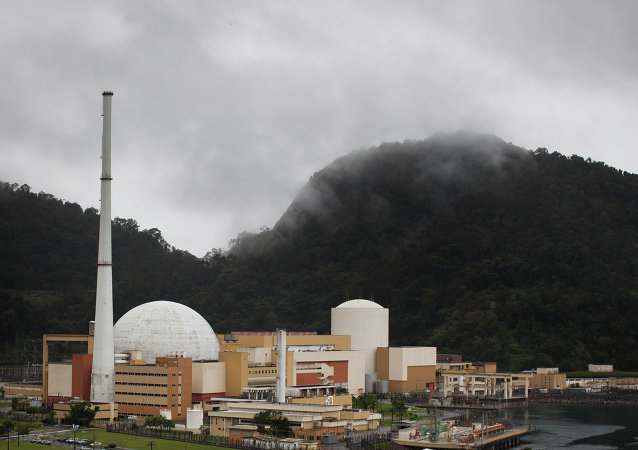 General view of Angra Nuclear power plant in Angra dos Reis, Brazil, Wednesday Aug. 31, 2011
