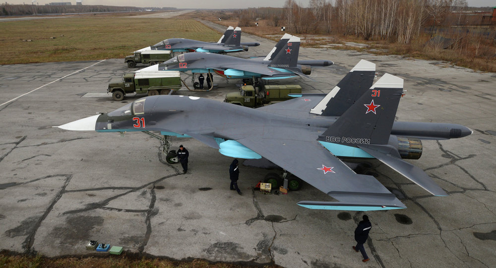 Su-34 fighter-bomber