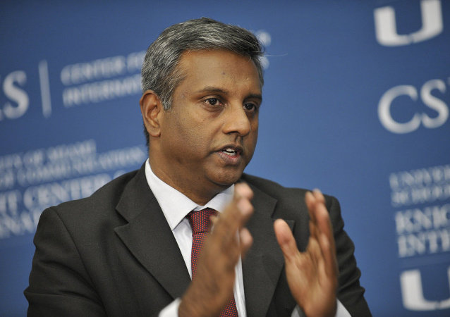 Amnesty International's Secretary General Salil Shetty