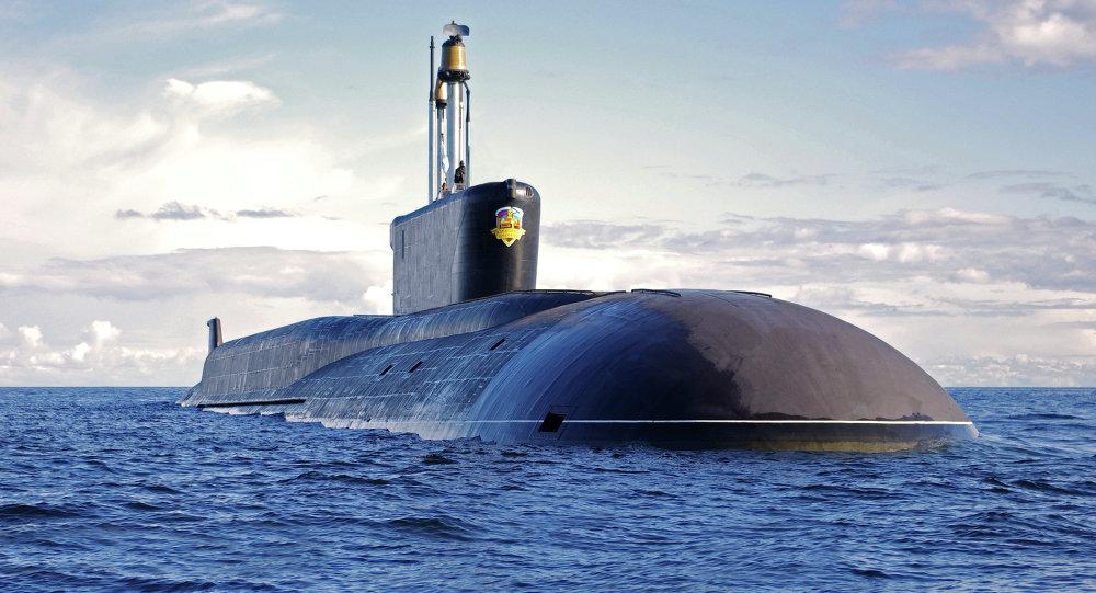 Sous-marin nucléaire du projet 955 Boreï Alexandre Nevski