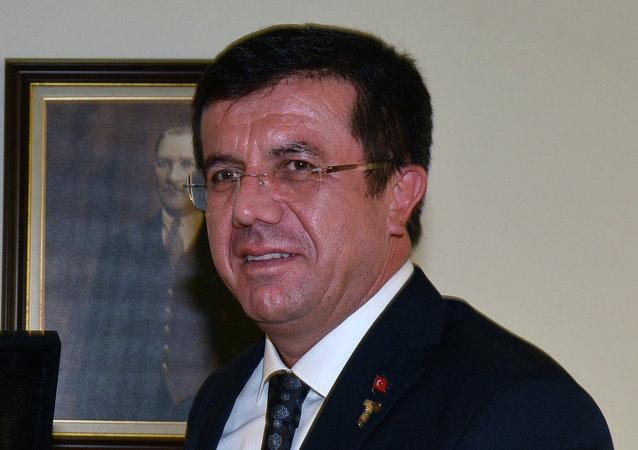 Turkish Minister of Economic Affairs Nihat Zeybekci