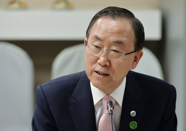United Nations Secretary General Ban Ki-moon