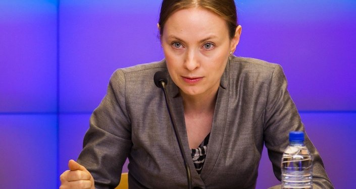 Polish Ambassador to Russia Katarzyna Pelczynska-Nalecz