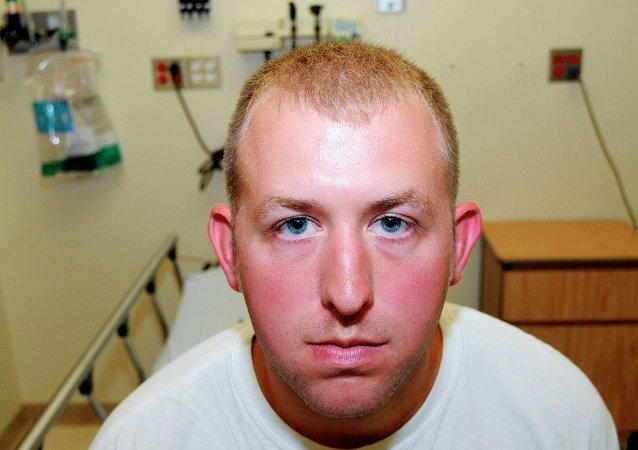 St. Louis County Prosecutor's Office photo shows Ferguson, Missouri police officer Darren Wilson