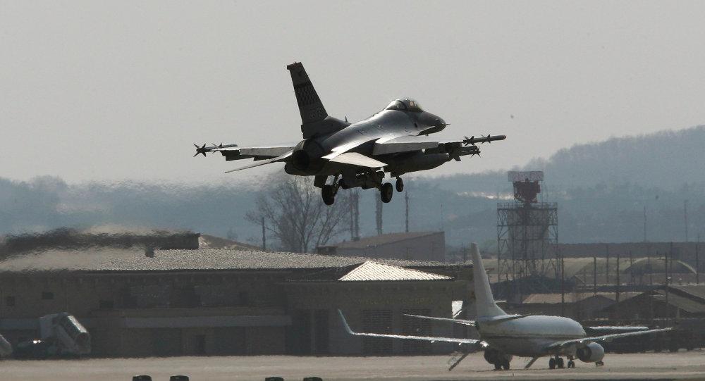 Osan U.S. Air Base in Osan