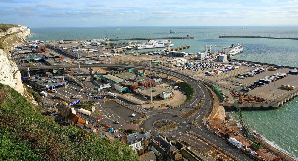 England, Kent, port of Dover