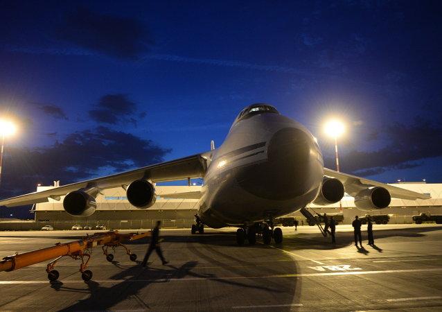An-124-100 Ruslan cargo aircraft (File)