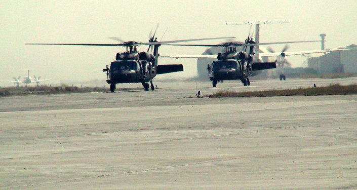 ISAF helicopters in Afghanistan