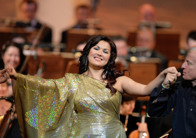 Anna Netrebko performs in Kazan