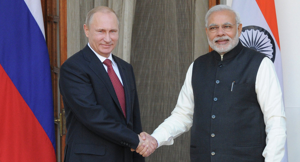 Vladimir Putin's official visit to India
