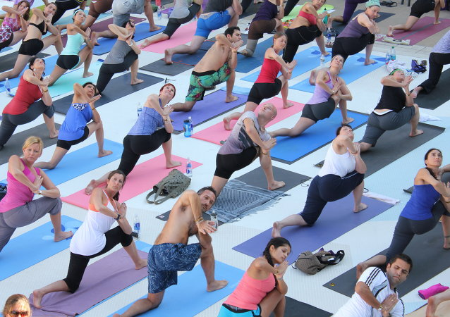 The United Nations General Assembly adopted a resolution on an International Day of Yoga, which will be observed on June 21 every year