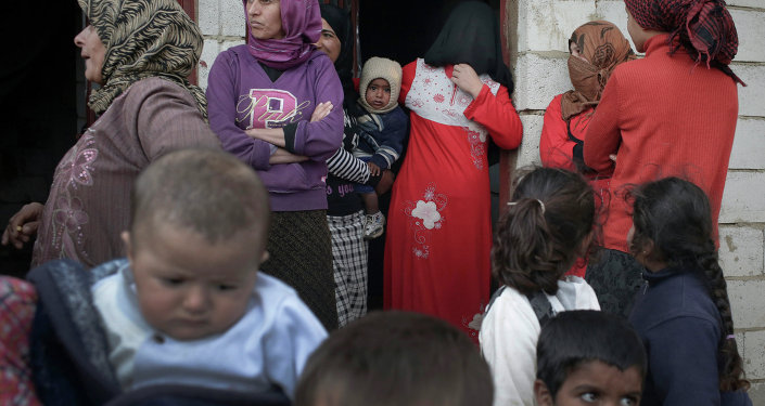 Syrian refugees in Lebanon's Bekaa Valley