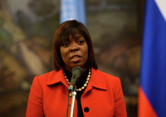 Sergey Lavrov meets with Ertharin Cousin