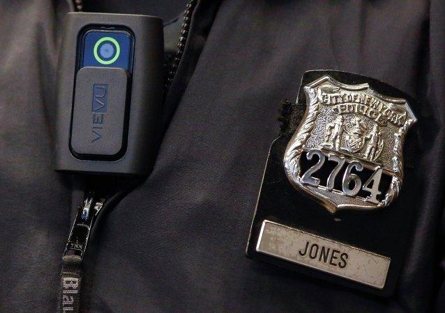 A police body camera