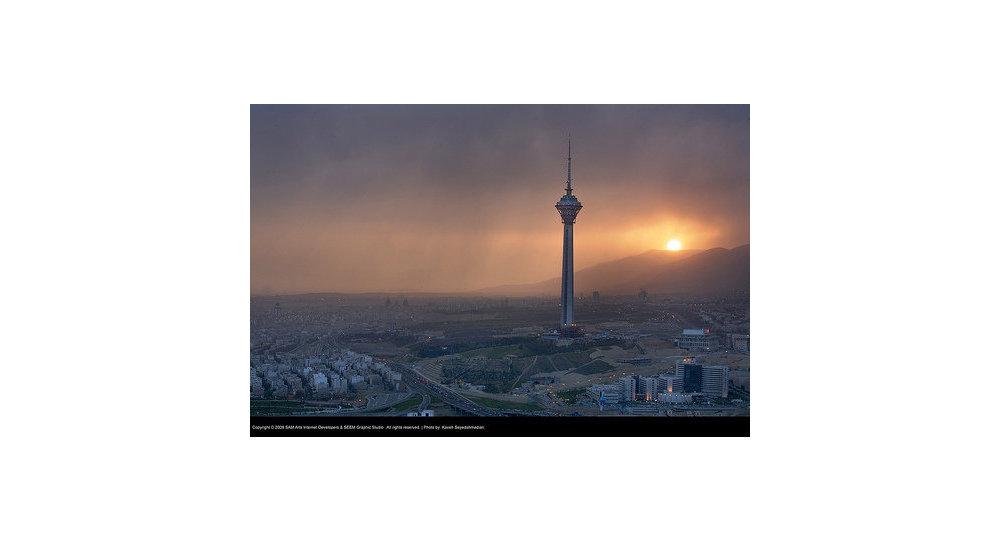 Башня Милад в Тегеране