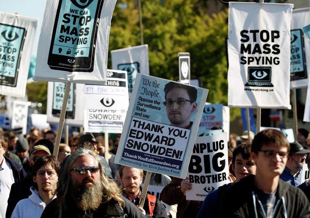 Demonstrators march through Washington
