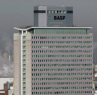 Headquarters of German chemical company BASF