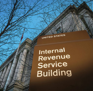 This April 13, 2014 file photo shows the headquarters of the Internal Revenue Service (IRS) in Washington.
