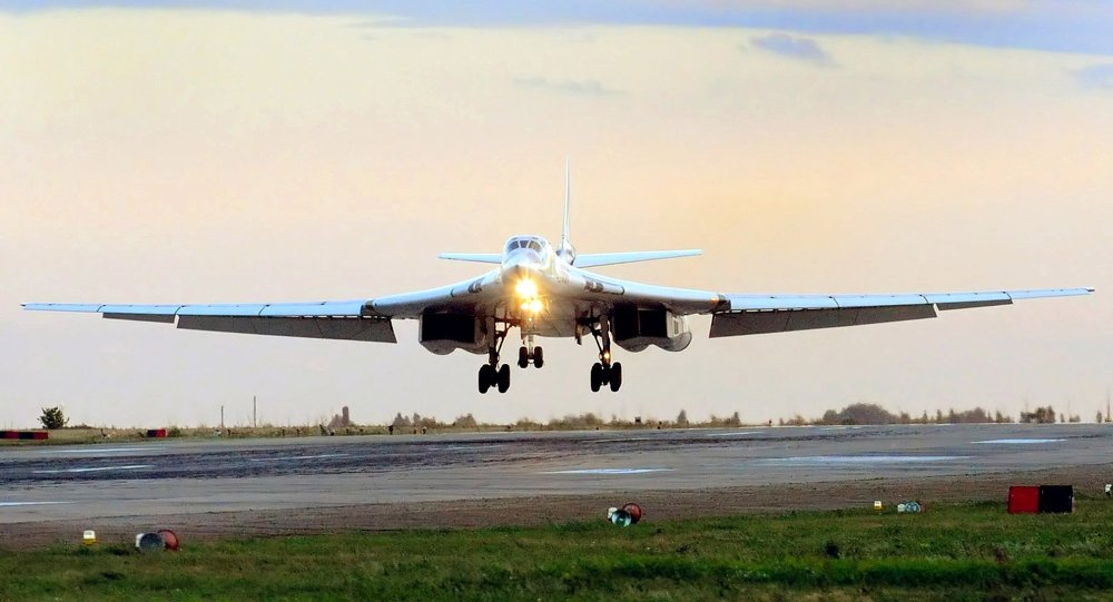 Image result for pesawat supersonik nuklir rusia Tupolev TU-160 M Strategic Bombers
