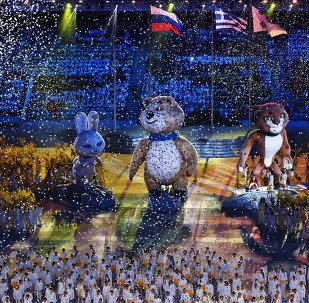 The Sochi Olympics 2014 closing Ceremony