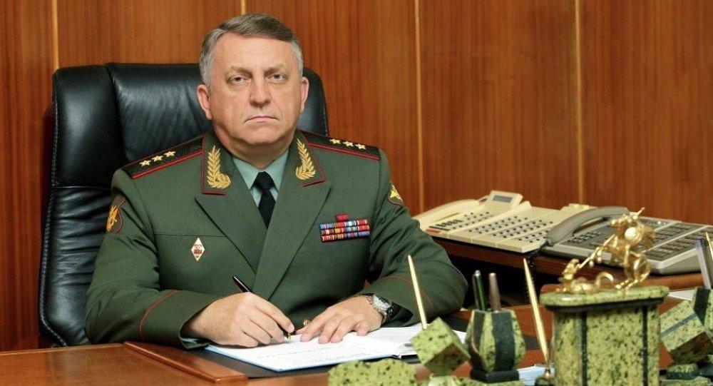 Strategic Missile Forces Commander Col.Gen. Sergei Karakayev