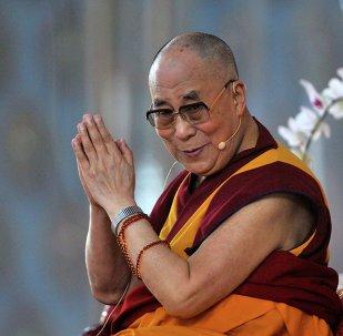 Exiled Tibetan spiritual leader, the Dalai Lama