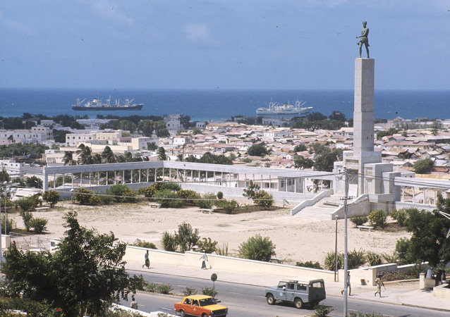 The capital of Somalia Mogadishu