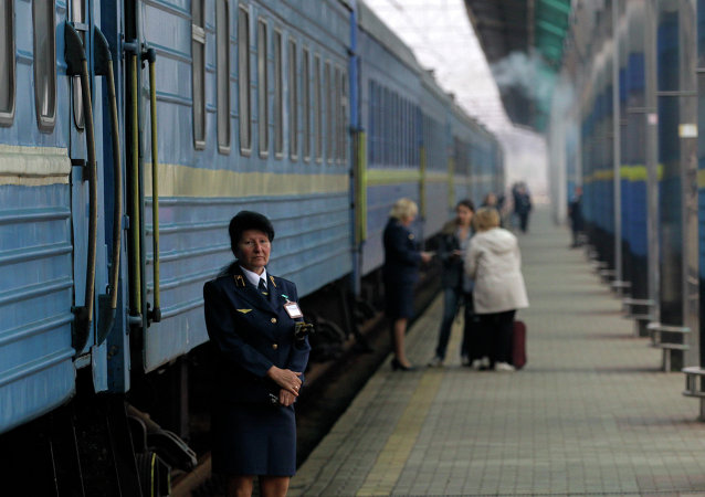 According to the Ukraine's State Railway Transport Administration, the railway communication, cargo transportation by rail and road passenger transportation between Ukraine and Crimea will be terminated.