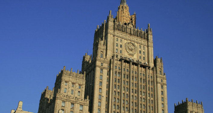 Sanctions against Russia and the information war carried out by the West are not helping to resolve the crisis in eastern Ukraine, the Russian Foreign Ministry said Saturday.