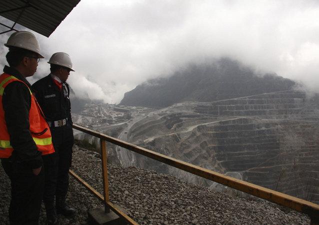 Freeport McMoRan's Grasberg mining complex