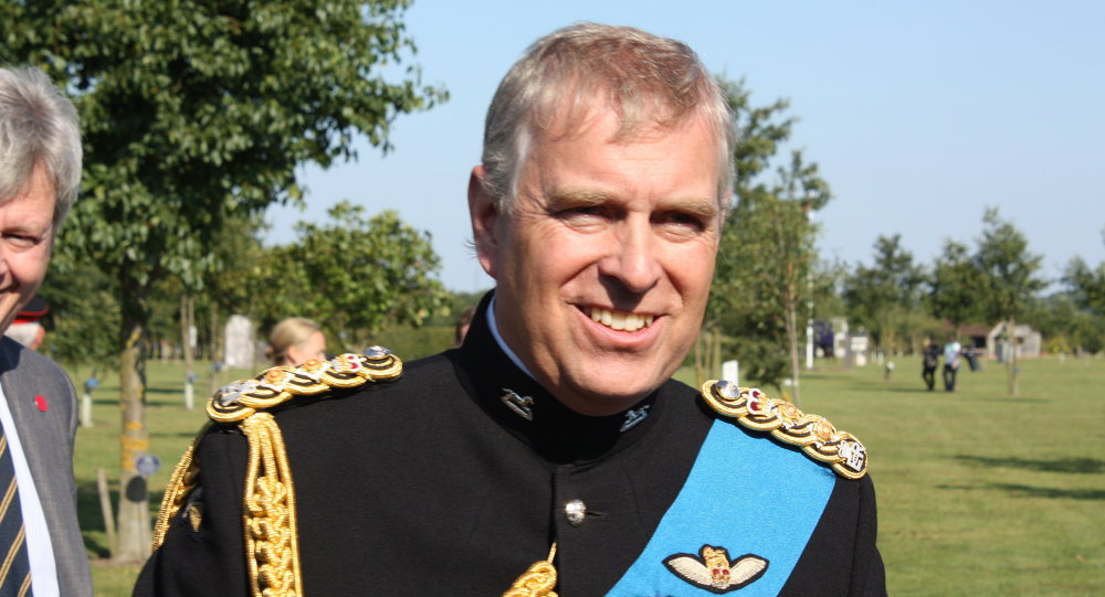 Prince Andrew at the National Memorial Arboretum