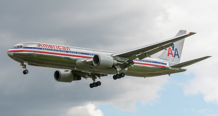 American Airlines B767-323ER N371AA Old Scheme