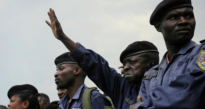 DR Congo police officers