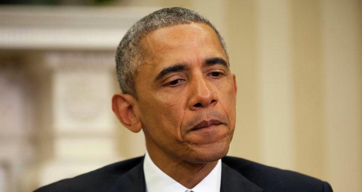US President Barack Obama'