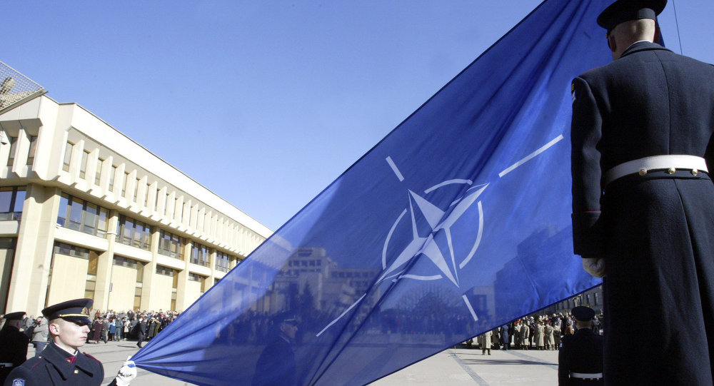 Staffers from the Czech President Milos Zeman's administration couldn't tell the difference between the flags of NATO and the UN, TV Channel Zvezda reported.