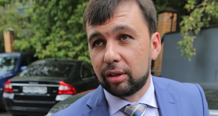 DPR envoy, Denis Pushilin